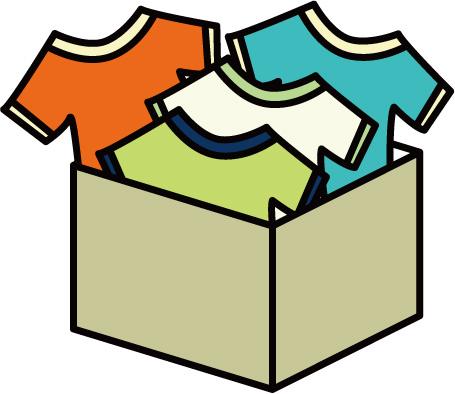 服の収納のイメージ画像2