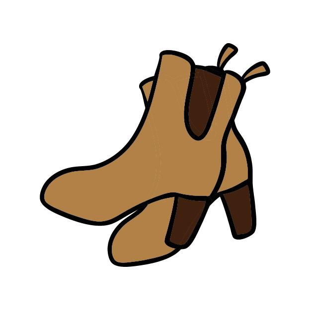 靴の臭いのイメージ画像