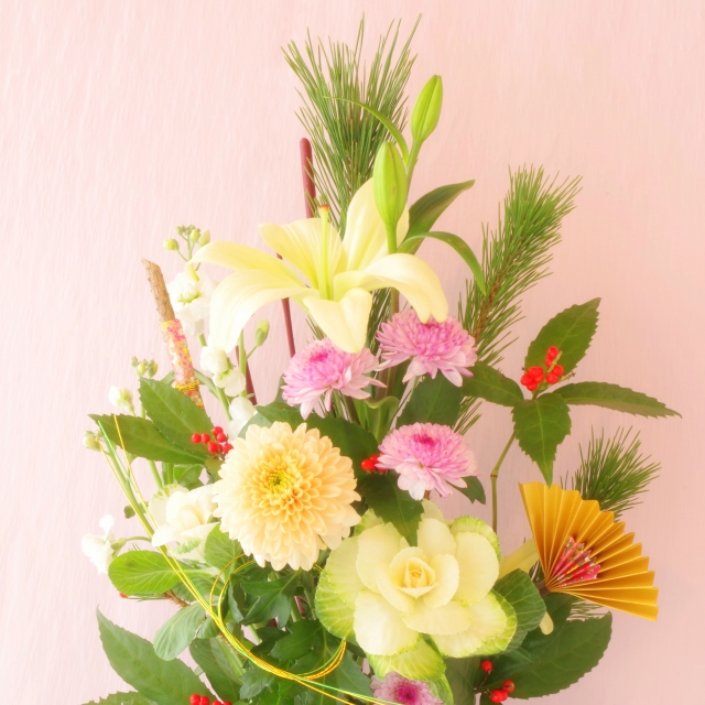 お正月の花のイメージ画像