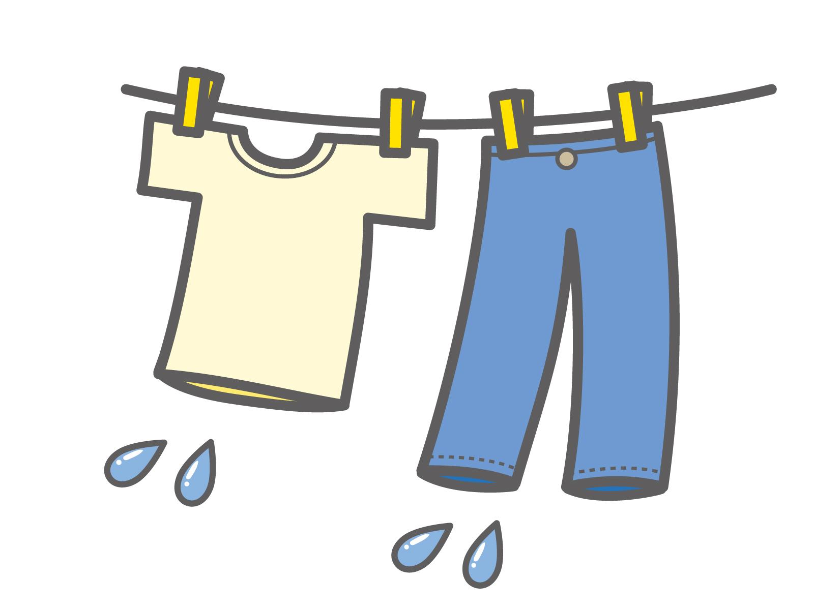洗濯物を干すイメージ画像