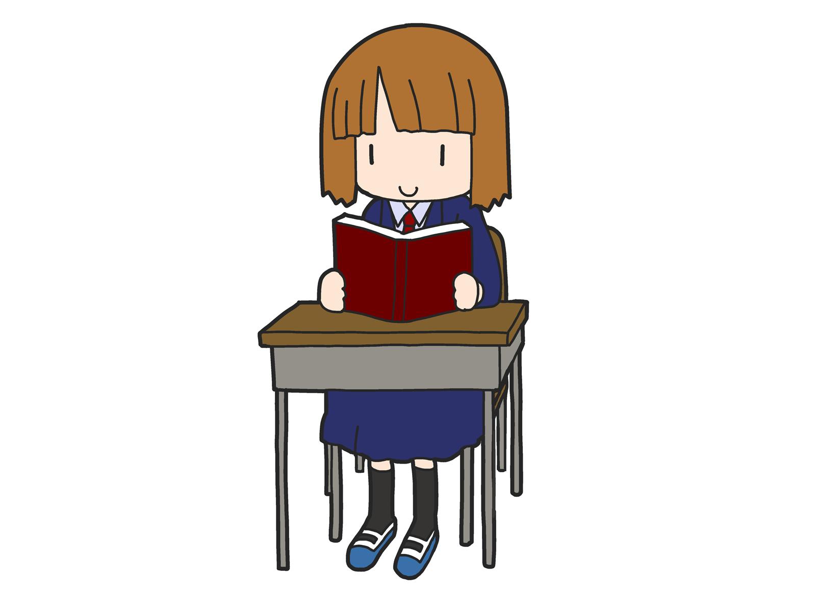 中学生の読書感想文のイメージ画像2