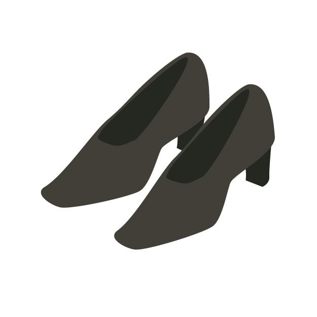 法事の女性の靴のイメージ画像