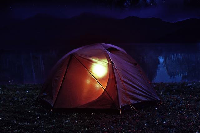 ソロキャンプのイメージ画像2