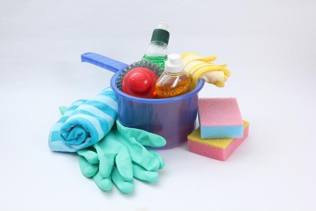 風呂の掃除の道具のイメージ画像