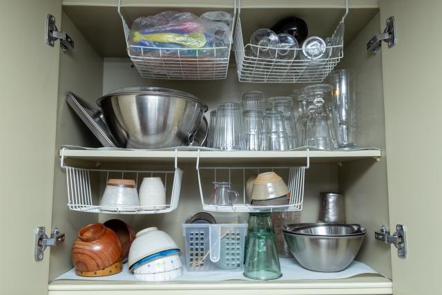 食器の収納のイメージ画像