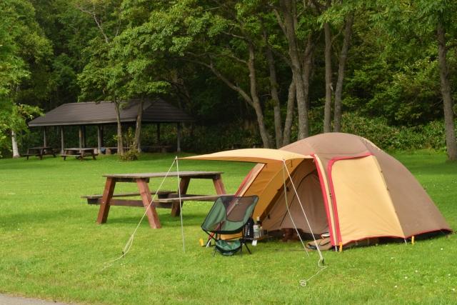 ソロキャンプのイメージ画像