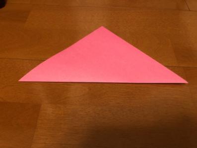 ぼんぼりの折り方の手順1