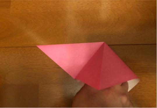 ぼんぼりの折り方の手順3