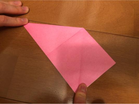 ぼんぼりの折り方の手順4