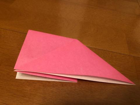 ぼんぼりの折り方の手順5