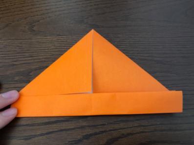 折り紙でリースの壁飾りを作る手順4