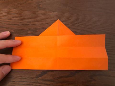 折り紙でリースの壁飾りを作る手順6