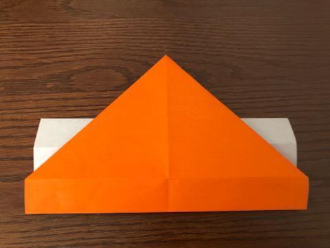 折り紙でリースの壁飾りを作る手順7