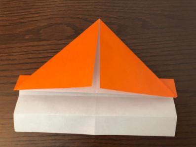 折り紙でリースの壁飾りを作る手順9