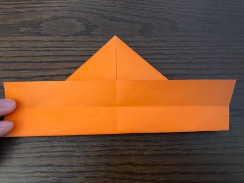 折り紙でリースの壁飾りを作る手順10