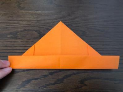 折り紙でリースの壁飾りを作る手順12