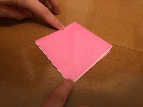 ぼんぼりの折り方の手順6