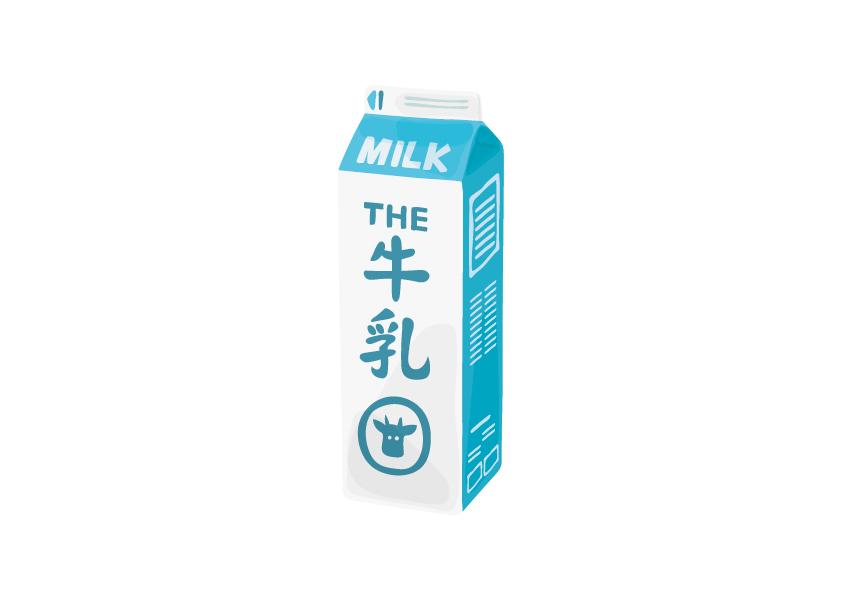 牛乳のイメージ画像