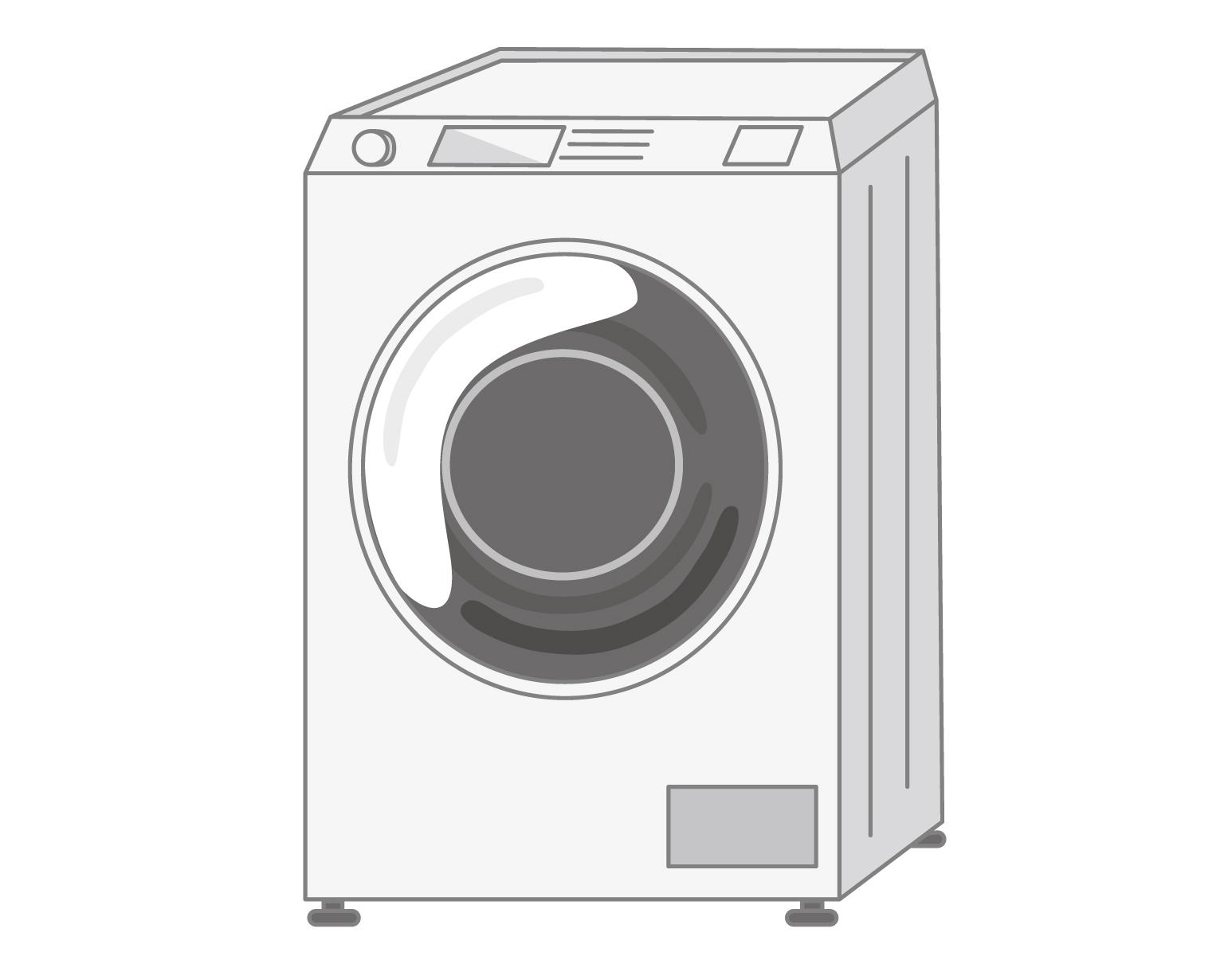 ドラム式洗濯機のイメージ画像
