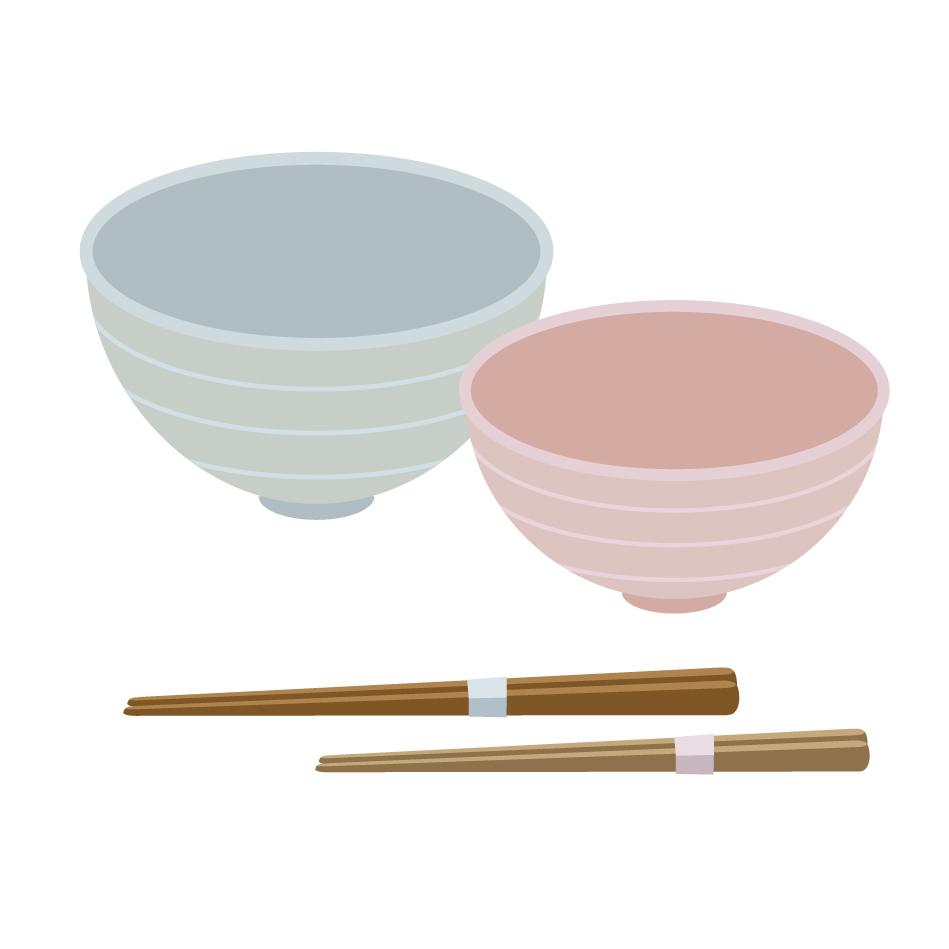 お茶碗のイメージ画像