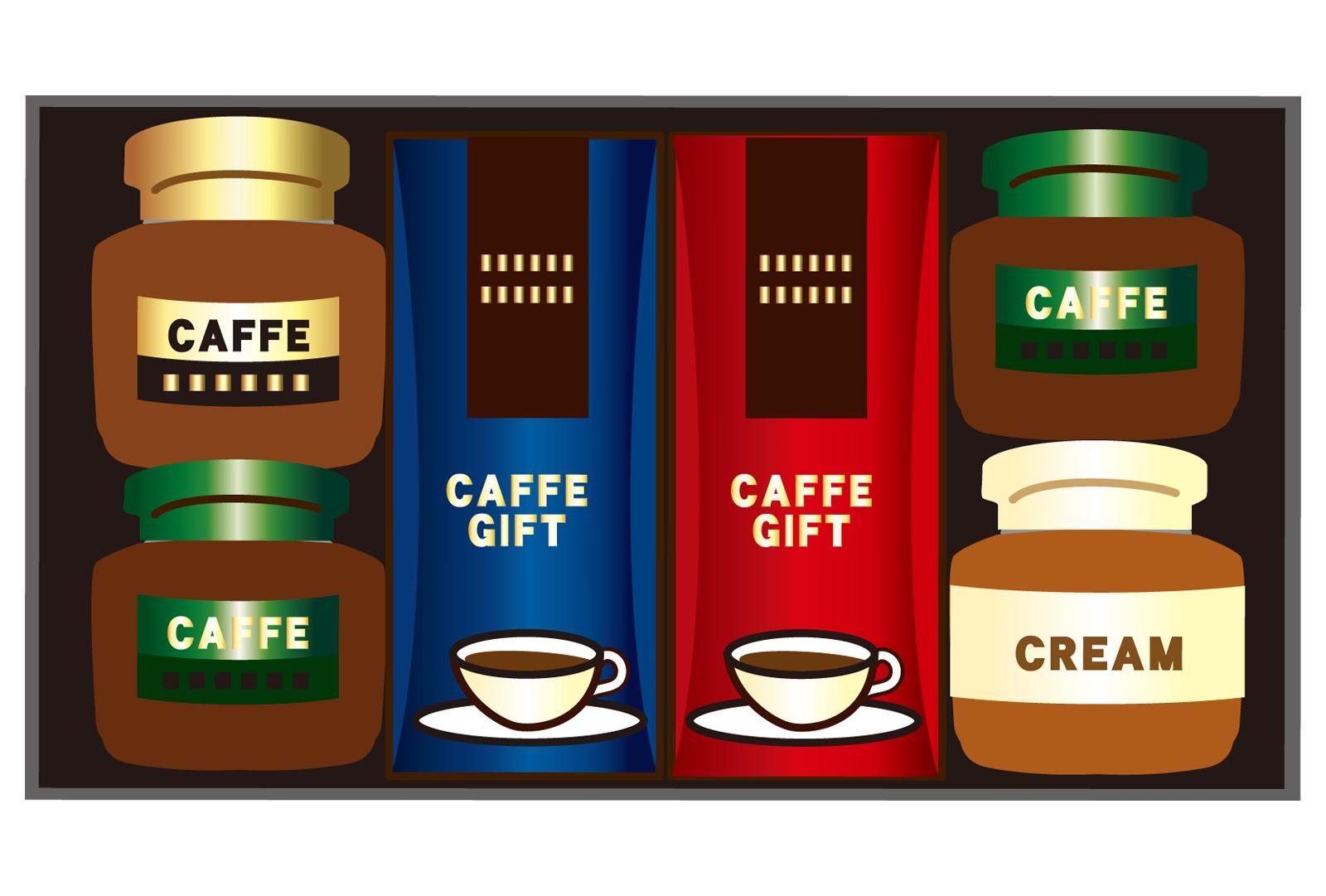 コーヒーのギフトセットのイメージ画像