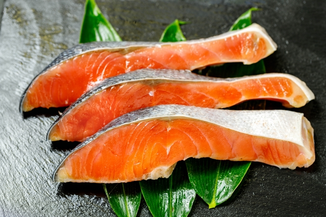 鮭の切り身のイメージ画像