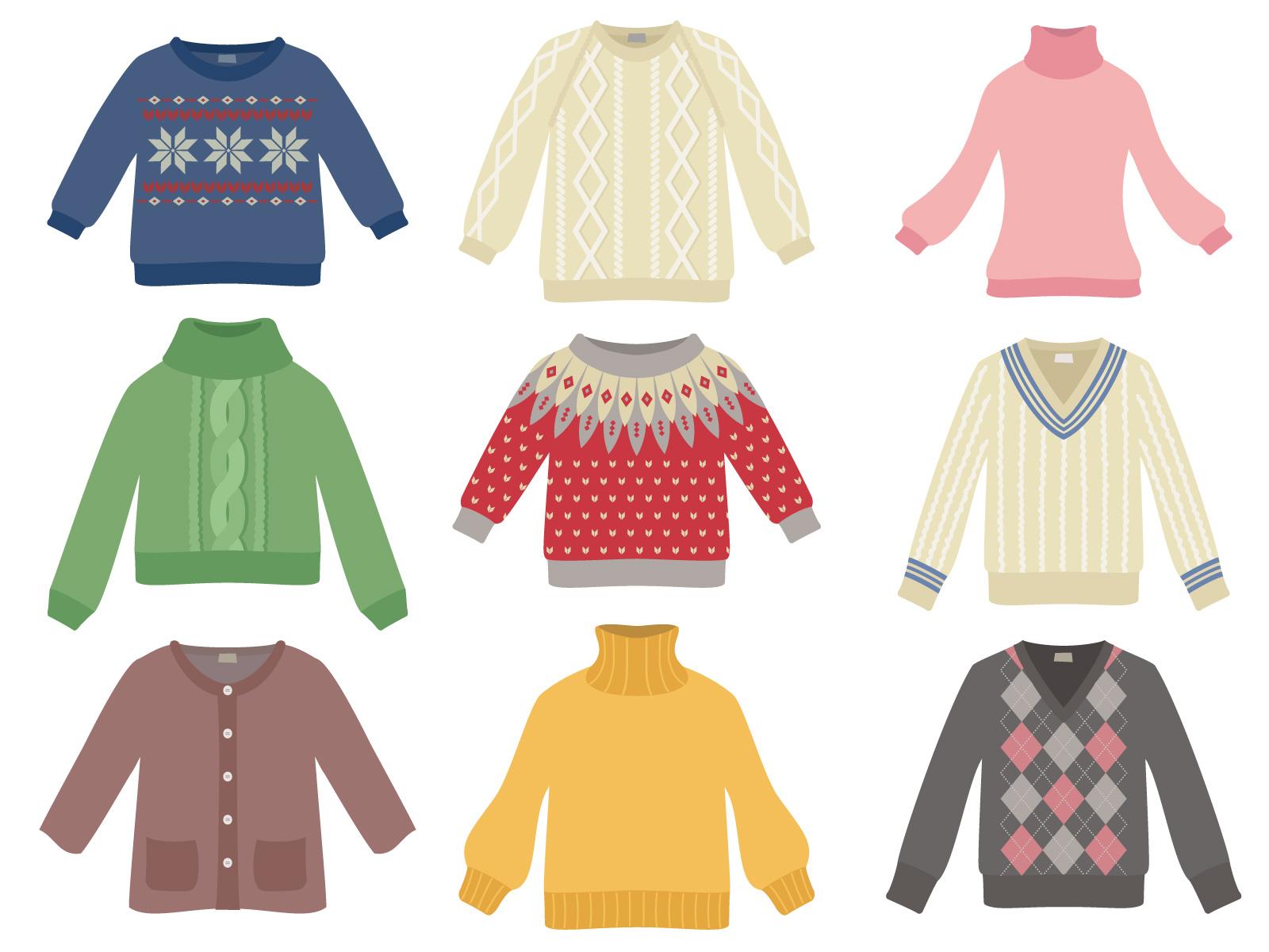 セーターのイメージ画像