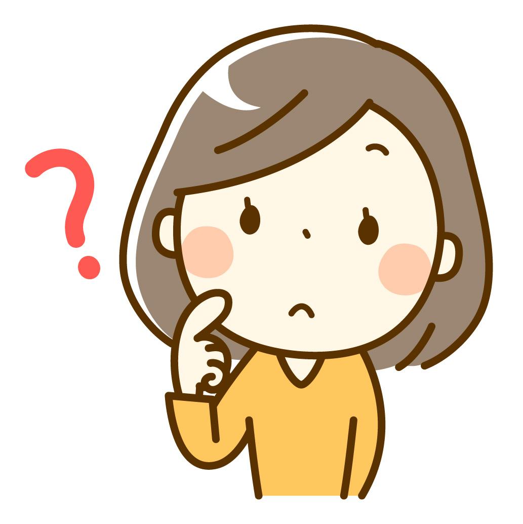 静電気体質について疑問に思う女の人のイメージ画像