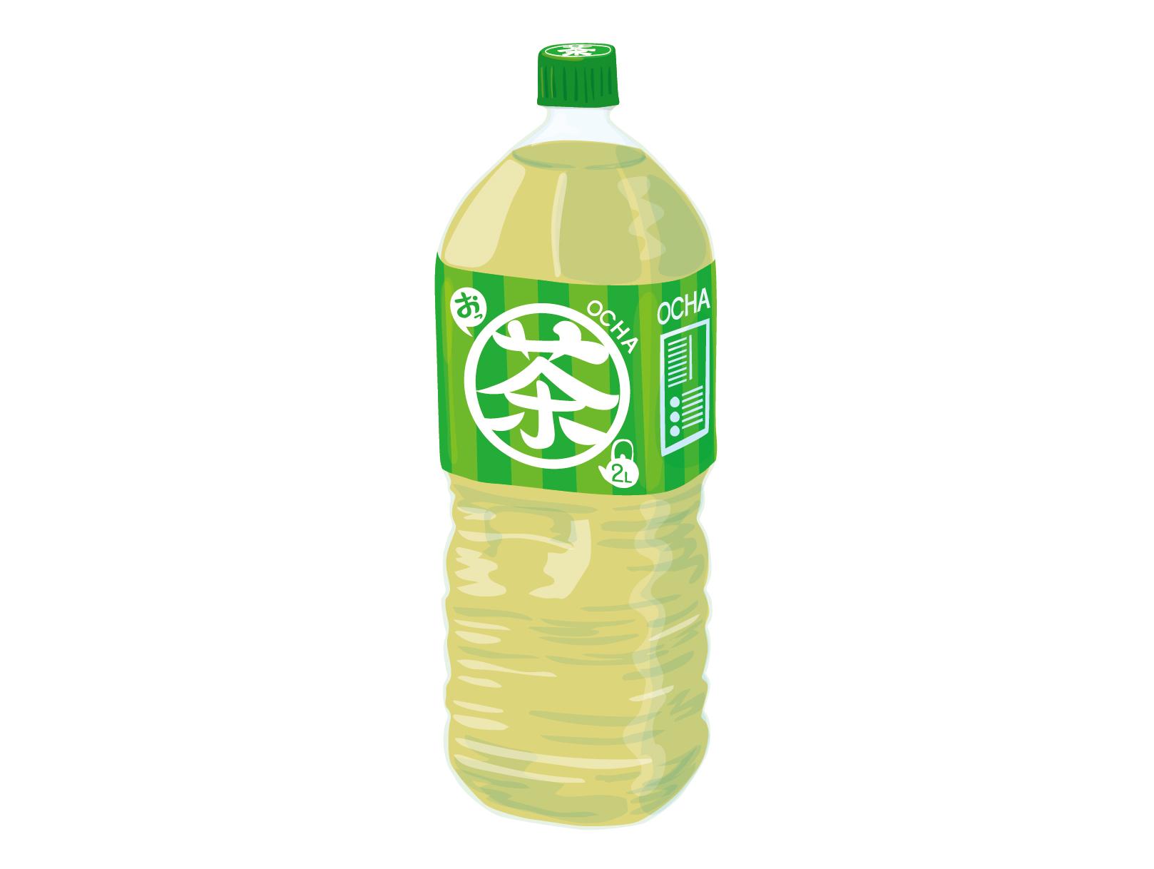 ペットボトルのお茶のイメージ画像2