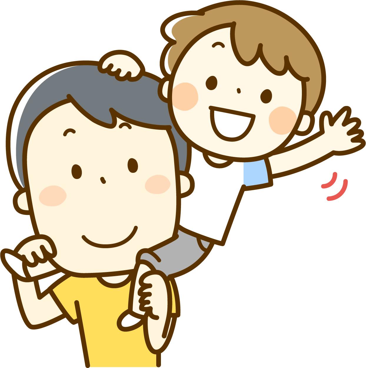 父親と男の子のイメージ画像
