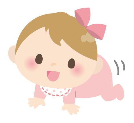 女の子の赤ちゃんのイメージ画像