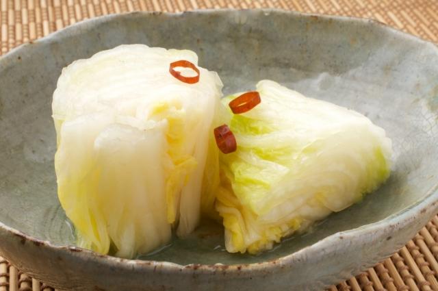 白菜の漬物のイメージ画像