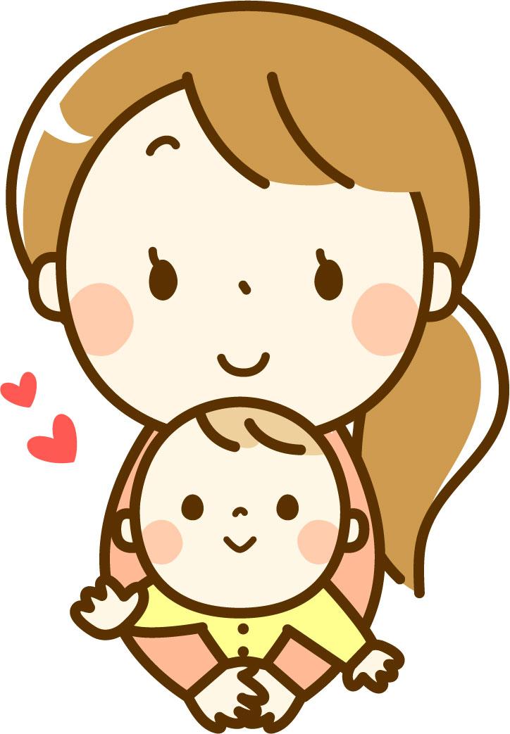 子供と母親のイメージ画像