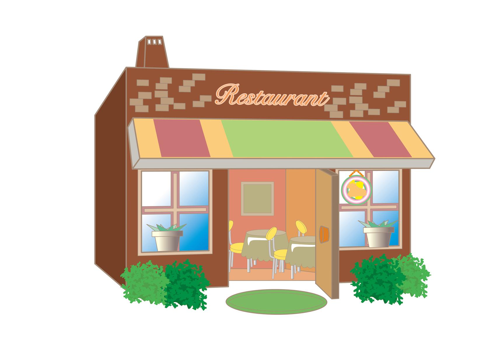 フレンチレストランのイメージ画像