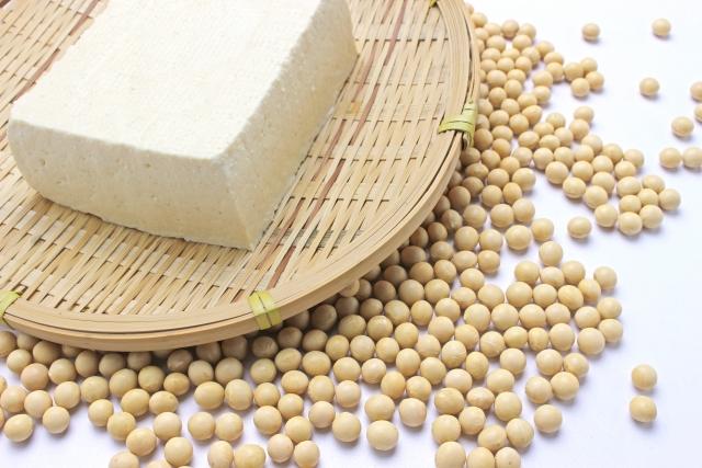 お豆腐と大豆のイメージ画像