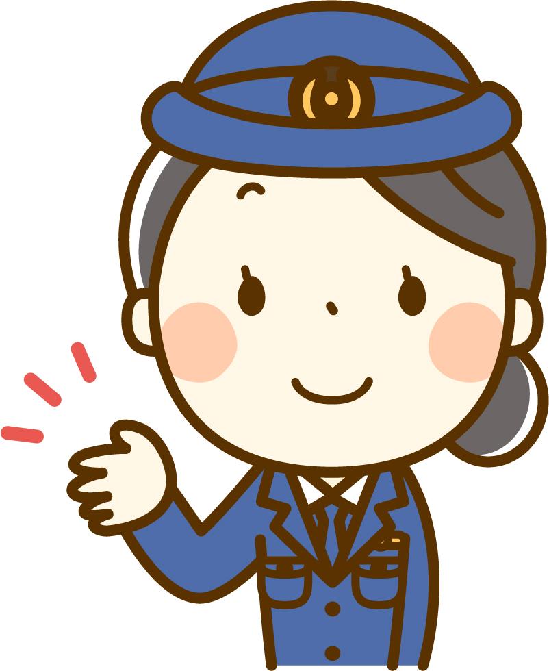 婦人警官のイメージ画像